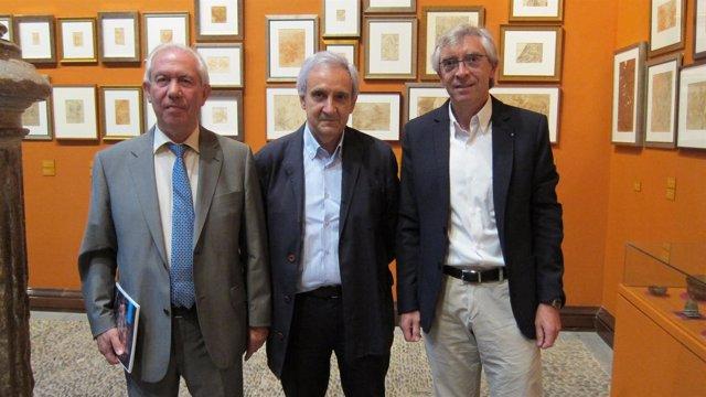 Francisco Bono, Javier Ibargüen y Antonio Jiménez
