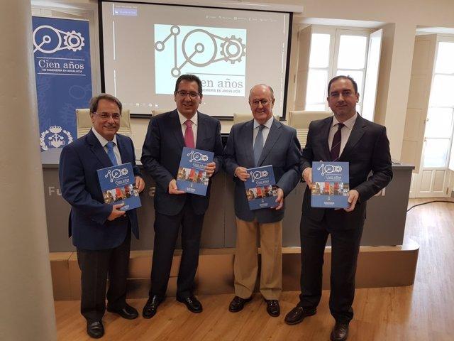 Presentación del libro 'Cien años de Ingeniería en Andalucía'