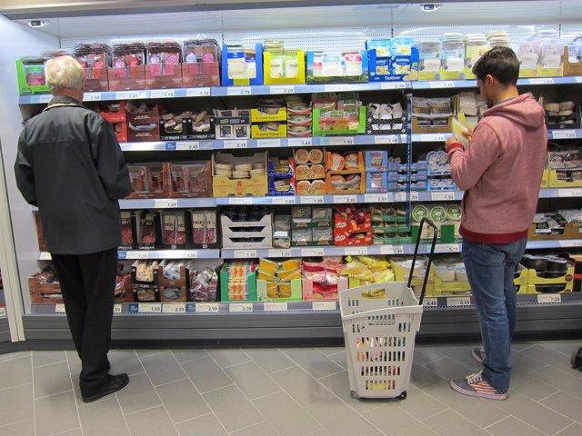 Supermercado, IPC, consumo, compradores