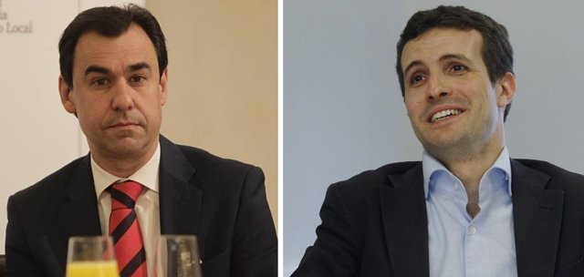 Pablo Casado y Fernando Martínez Maíllo
