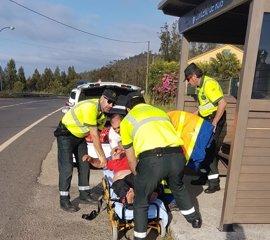 Un conductor ebrio se queda dormido durante la prueba de alcoholemia