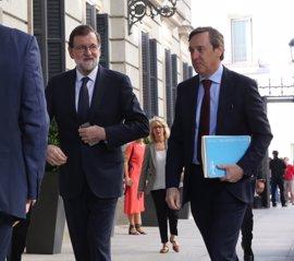 """Rajoy replica a la moción de censura subrayando que el PP representa a una """"gran mayoría"""""""
