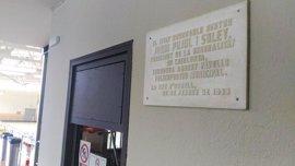 La Seu d'Urgell (Lleida) retirará placas conmemorativas que hacen referencia a Jordi Pujol