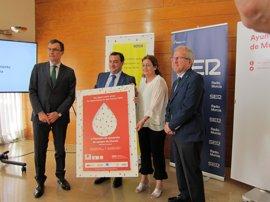 El Salón de Plenos del Ayuntamiento de Murcia, abierto este miércoles con motivo del II Maratón Solidario de Sangre