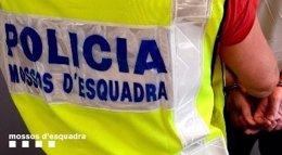 Detención de Mossos d'Esquadra