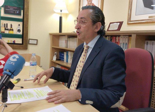 El presidente del Ecova, Juan Carlos de Margarida