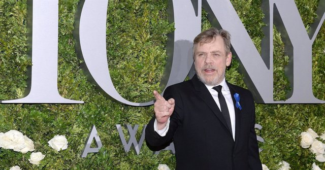 Actor Mark Hamill attends the 71st Annual Tony Awards at Radio City Music Hall i