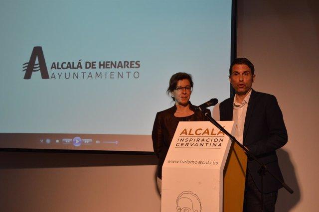 Alcalde de Alcalá y el centenario de Cervantes