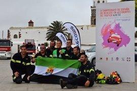 El equipo del CPEI de Badajoz, campeón en maniobra urgente en el Campeonato de España de Rescate en Accidentes