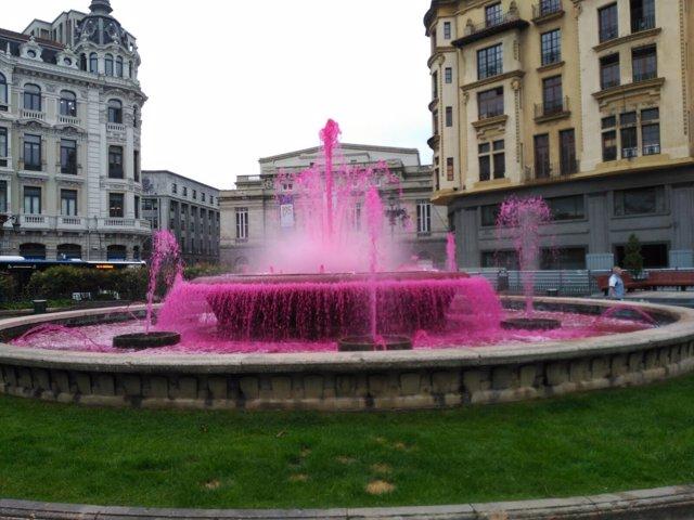 Plaza de La Escandalera, en Oviedo