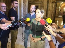 Forcadell dice que la sentencia sobre Atutxa avala la solución política en vez de la judicial