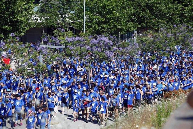 X Caminata Solidaria de Unilever en Viladecans