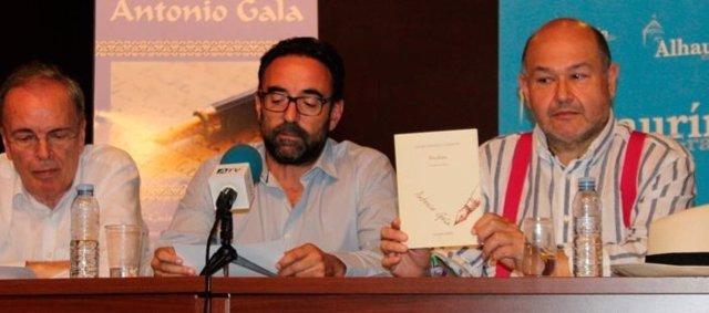 Antonio Garrido jurado premio poesía Antonio Gala