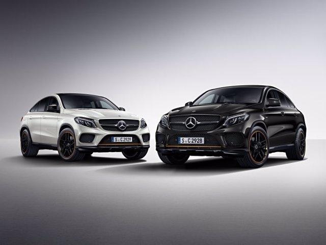 Mercedes-Benz GLE  OrangeArt Edition.