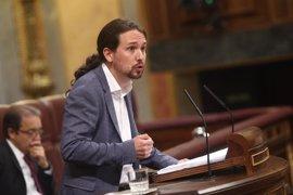 """Iglesias avisa a Rajoy de que pasará a la historia como """"el presidente de la corrupción"""""""