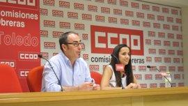 """CCOO """"urge"""" a la Junta a aprobar la Ley de Violencia de Género y a dotarla de presupuesto suficiente"""