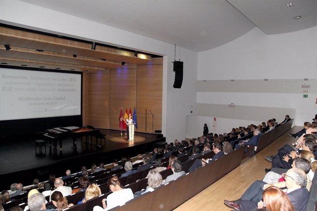 Embajadores reunidos en Alcobendas