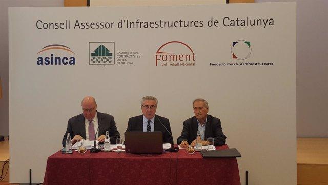 Salvador Guillermo, Joaquim Llansó y Francisco Gutiérrez