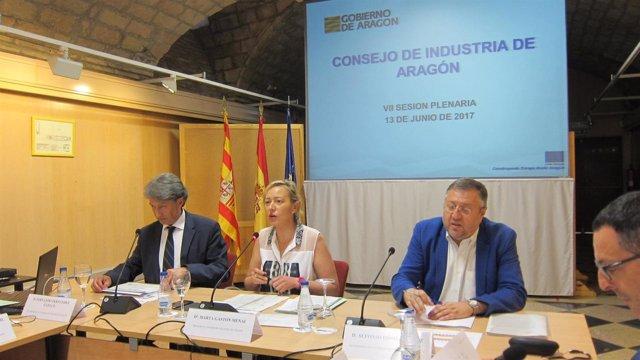 Marta Gastón preside el Consejo de Industria de Aragón