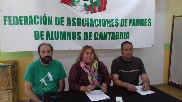 Rueda de prensa de FAPA Cantabria