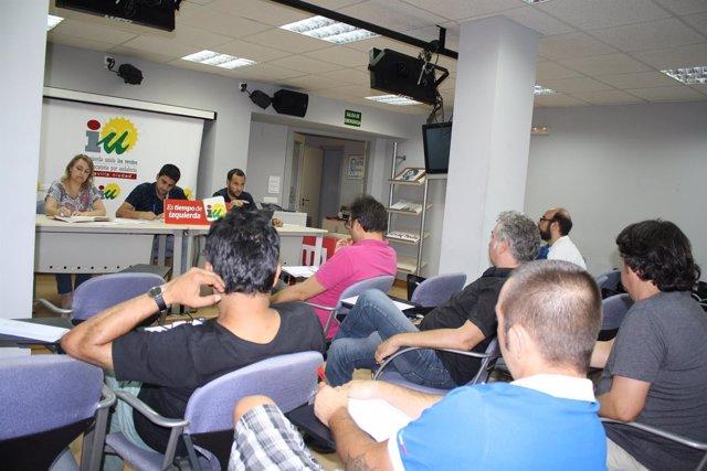 Comisión ejecutiva de IU.
