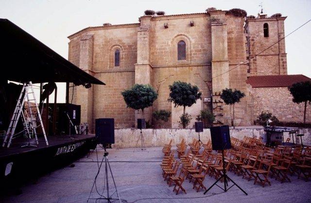 Escenarios móviles de la Junta de Extremadura