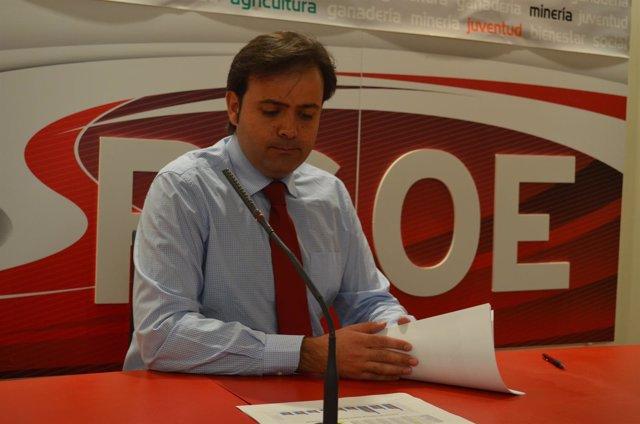Secretario general del PSOE de León, Tino Rodríguez.
