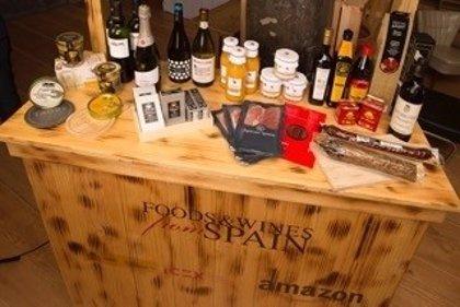 Amazon e Icex se alían para impulsar la exportación de la gastronomía española