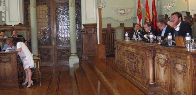 Debate sobre el estado de la ciudad en el Ayuntamiento de Valladolid