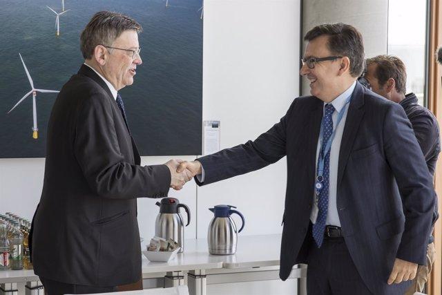 Puig se reúne con el vicepresidente del BEI