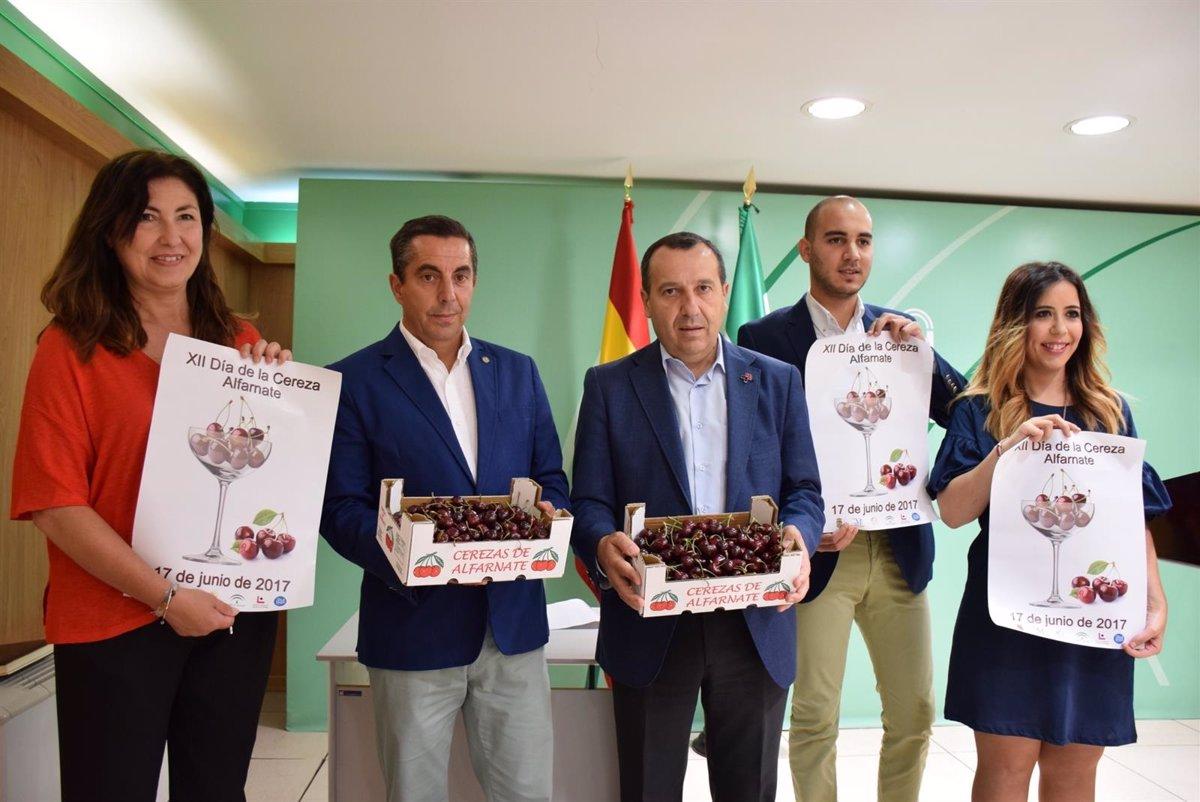 Alfarnate Celebra Este Sábado El Día De La Cereza Con Una Fiesta Gastronómica Cultural Y Turística