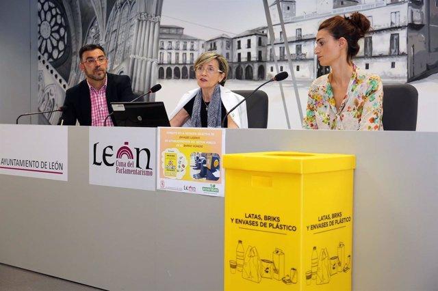 Presentación del proyecto de reciclaje de envases ligeros en León