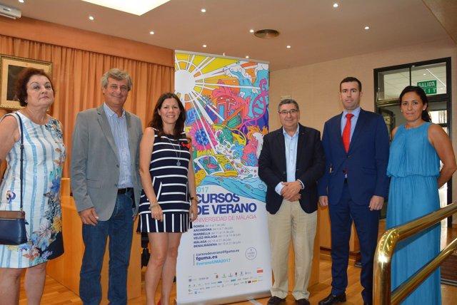 Vélez-málaga presentación cursos verano uma