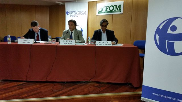 Presentación de los informes sobre transparencia de TI-España