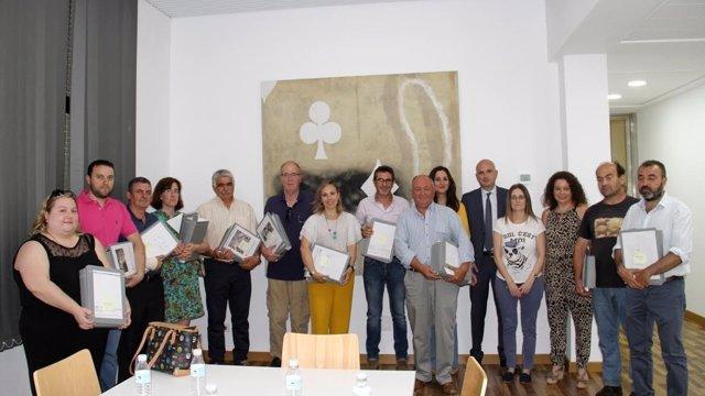 Diputación entrega proyectos del PFEA a once municipios de Huelva.