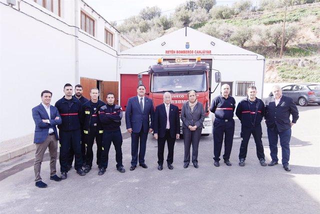 A principios de año, Diputación inauguró el retén de Canjáyar.