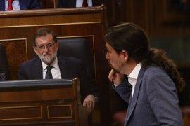 """Rajoy no ve a Iglesias """"merecedor"""" de ser presidente porque sería """"letal"""" para el bienestar general"""