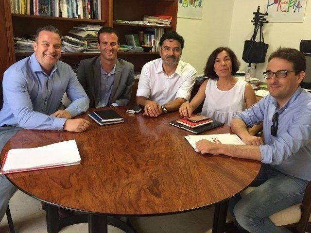 Reunión de la directora general de Turismo con sectoriales de Pimem