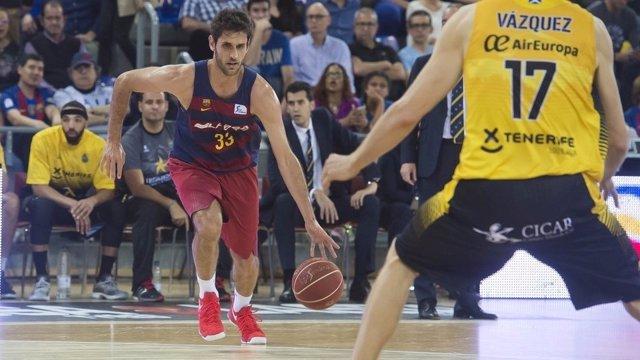 Stratos Perperoglou, jugador del FC Barcelona Lassa