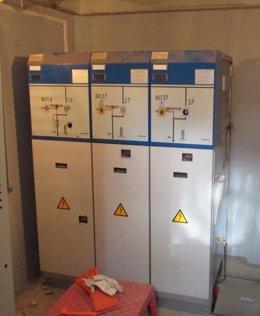 Telecomando línea eléctrica en el Gironès y la Selva