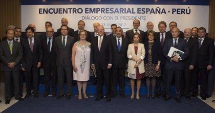 Kuczynski invita a las empresas españolas a invertir en Perú