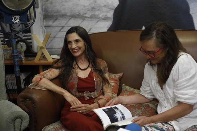 Ángela Molina y Elena Martínez presentarán su libro Detrás de la mirada