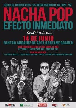 Nacha Pop llega este miércoles al CAAC