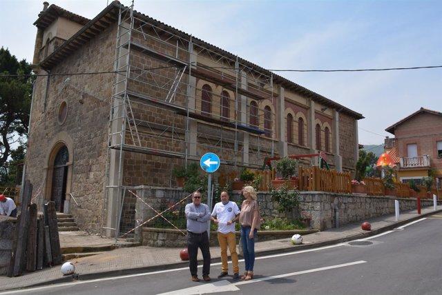 Iglesia de Elguero en Trapagaran