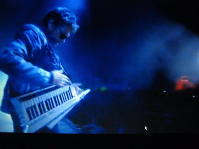 Jean_Michel Jarre, en el concierto inaugural del Año Jubilar Lebaniego