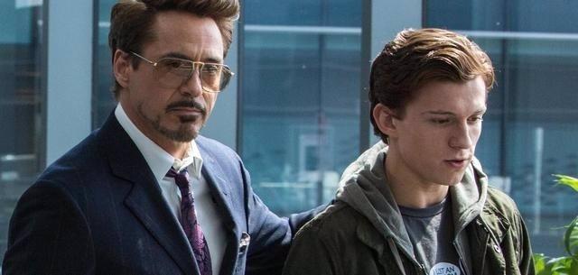 Tony Stark y Spider-Man