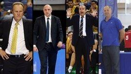 García Reneses, Laso, Vidorreta e Imbroda, entrenadores de lujo en la ACB Academy de Gran Canaria