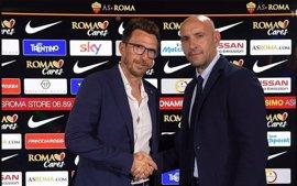 La Roma confirma la vuelta de Di Francesco como técnico y el fichaje de Héctor Moreno