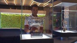 Nadal coloca la Décima de Roland Garros en el 'Rafa Nadal Museum' de Mallorca