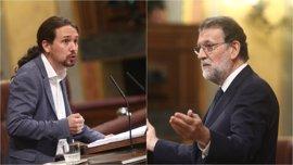"""Euforia en el Gobierno y el PP con el papel de Rajoy porque ha """"descolocado"""" y """"desnudado"""" a Podemos"""